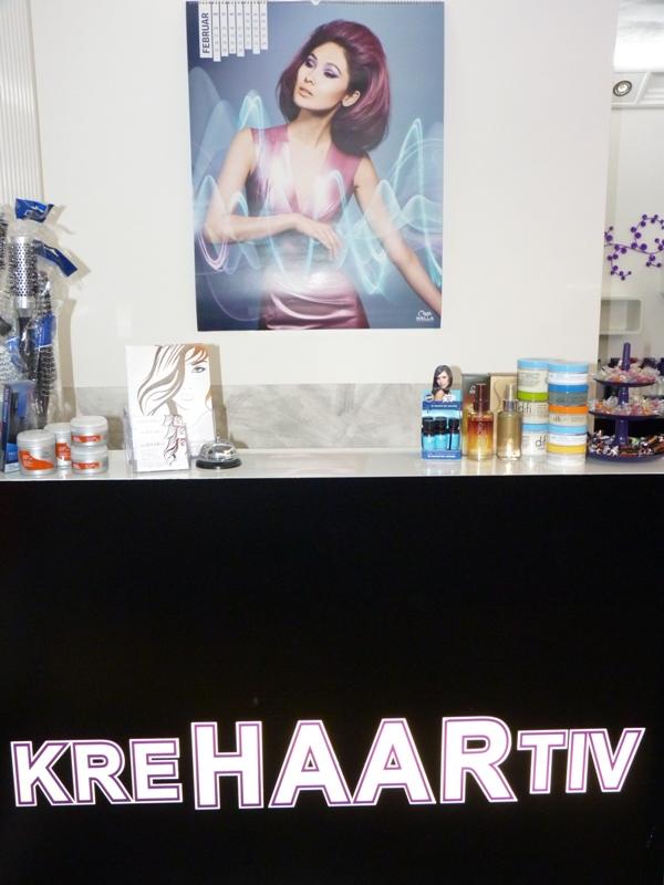 Krehaartiv Friseure - Thekenbereich
